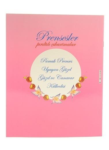Çiçek Yayıncılık Prensesler Pırıltılı Çıkartmalar-Pamuk Prenses Renkli